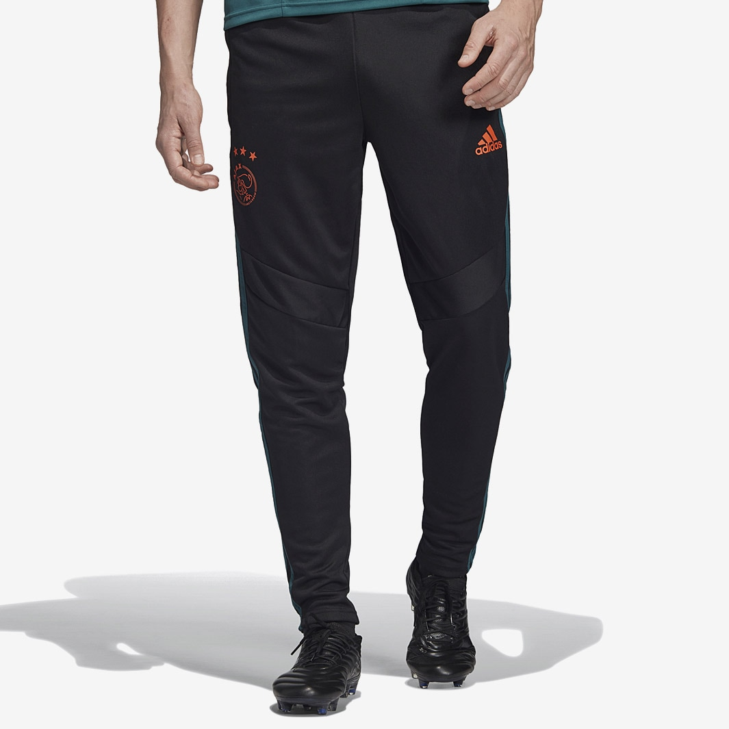Adidas Jogginghose Schwarz Herren Adidas Ajax 2019 20 Training Pants Black Tech Green