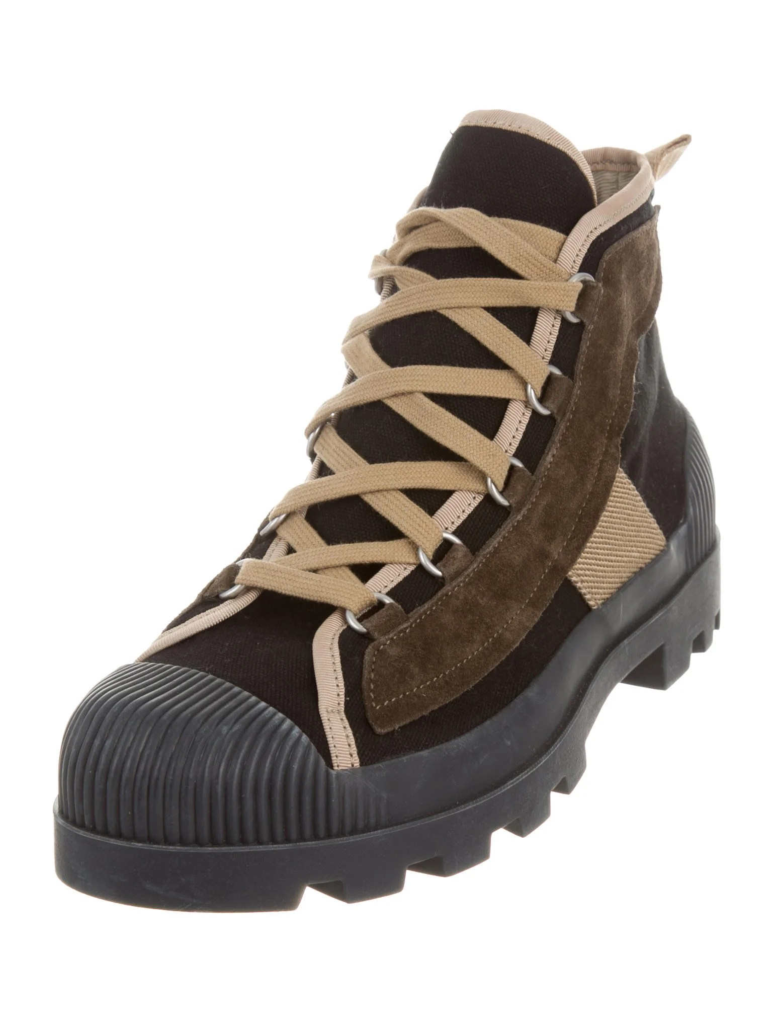 Acne Daniel Hiking Boots Shoes Acn30397 The Realreal