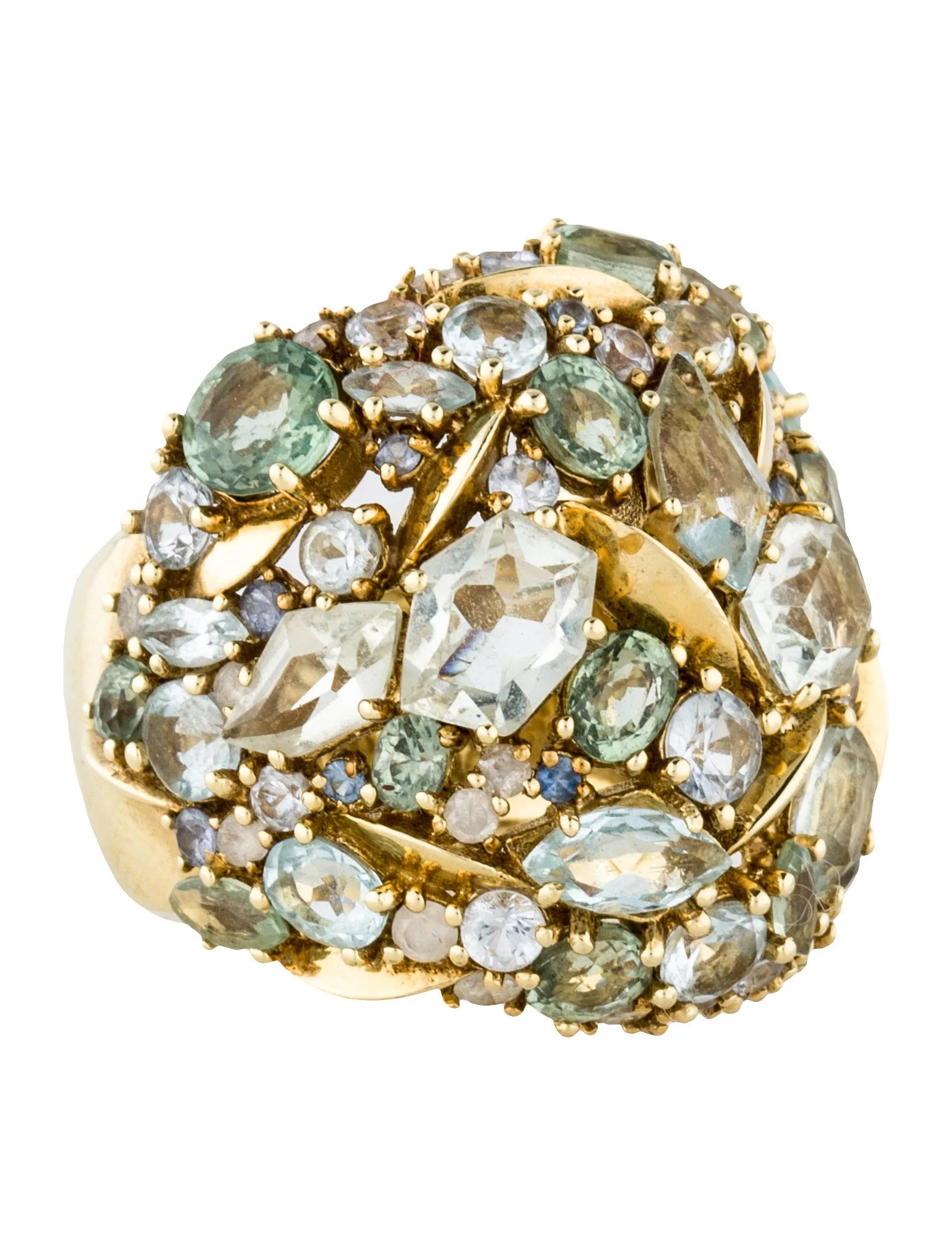 Alexis Bittar Fine Jewelry Cluster Dome Ring