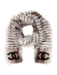 Chanel Rabbit Fur Scarf - Accessories - CHA60825   The ...