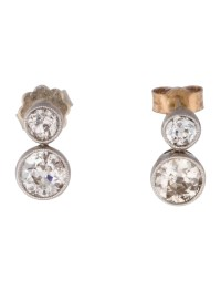 Old European Cut Diamond Earrings - Earrings - FJE26340 ...