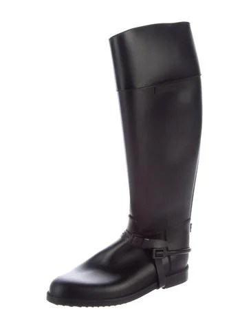 Givenchy Rubber Knee High Rain Boots Shoes Giv42630