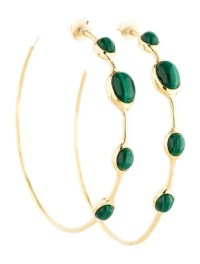 Ippolita Malachite Hoop Earrings - Earrings - IPP21101 ...