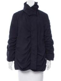 Issey Miyake Shawl Collar Down Coat - Clothing - ISS21018 ...