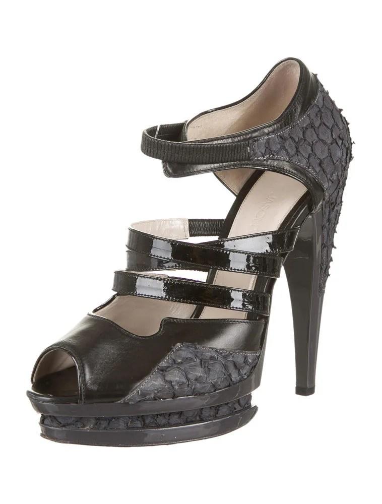 Jason Wu Platform Sandals Shoes Jas20305 The Realreal