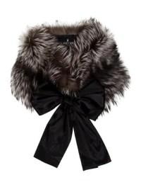 J. Mendel Fox Fur Shawl - Accessories - JME24015   The ...