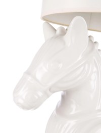 Jonathan Adler Ceramic Horse Lamp - Furniture - JTADL20034 ...