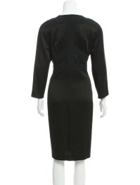 Narciso Rodriguez Silk Sheath Dress - Clothing - NAR26270 ...