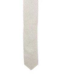 Prada Silk Stripe Skinny Tie - Suiting Accessories ...