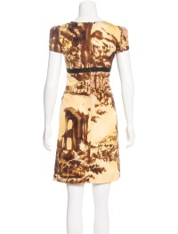 Prada Silk Sheath Dress - Clothing - PRA161579 | The RealReal