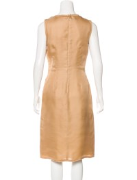 Prada Silk Sheath Dress - Clothing - PRA168707 | The RealReal
