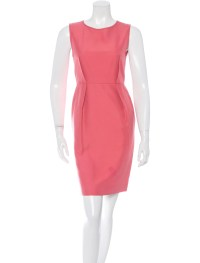 Stella McCartney Silk Sheath Dress - Clothing - STL40922 ...