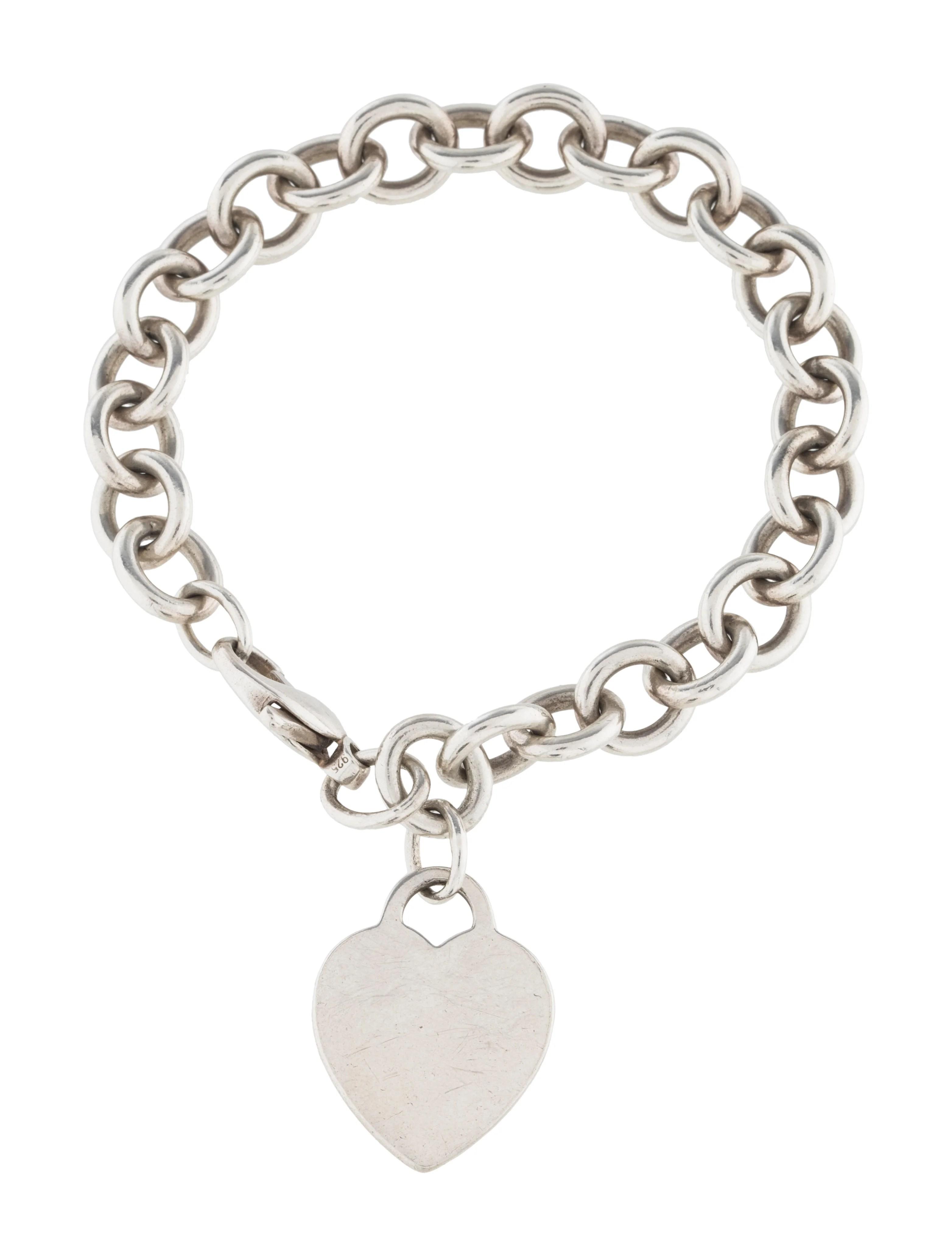 Tiffany Co Heart Tag Bracelet Bracelets Tif58784