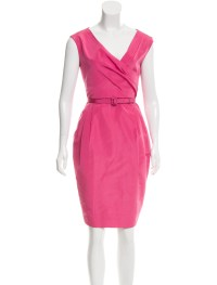 Valentino Silk Sheath Dress - Clothing - VAL60476 | The ...