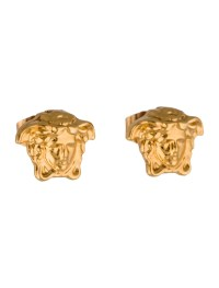 Versace Medusa Stud Earrings - Earrings - VES23811 | The ...