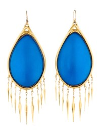 Alexis Bittar Oval Lucite Fringe Earrings - Earrings ...