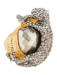 Alexis Bittar Siyabona Panther Ring - Rings - WA527980 ...