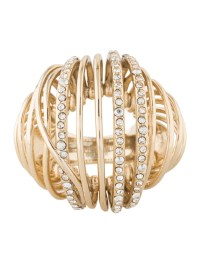Alexis Bittar Crystal Caged Dome Ring - Rings - WA531326 ...