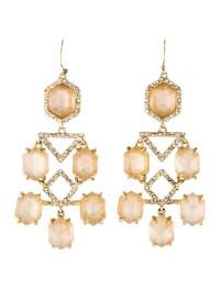 Alexis Bittar Quartz Doublet & Crystal Chandelier Earrings ...