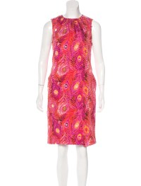 Tory Burch Silk Sheath Dress - Clothing - WTO95207 | The ...