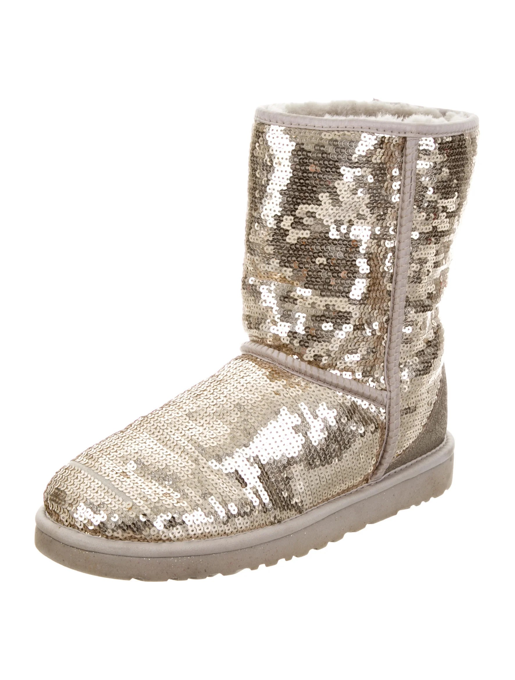Ugg Australia Sequined Classic Short Boots Shoes