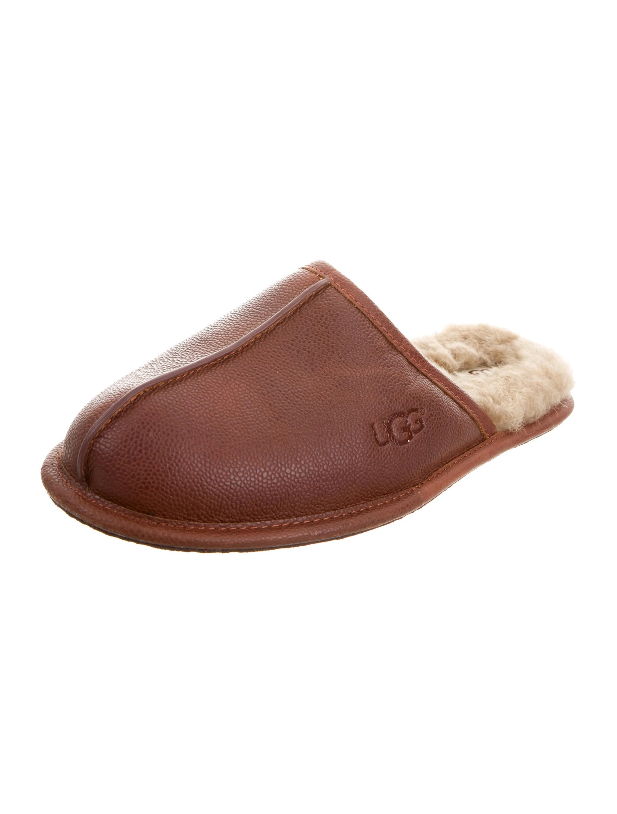 Slippers Australia Ugg Australia Shearling Lined Leather Slippers W Tags