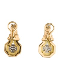 Chaumet Diamond Clip-On Earrings - Earrings - CHM20112 ...