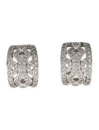 14K Diamond Clip-On Earrings - Jewelry - EARRI20520 | The ...