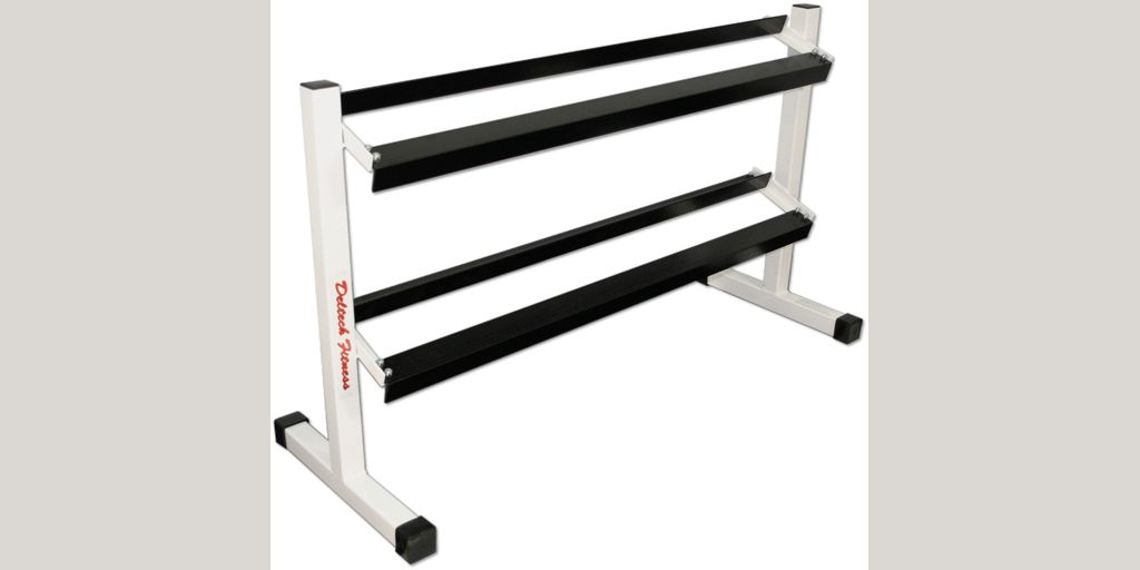 Deltech Fitness Two Tier 54quot Dumbbell Rack Product8