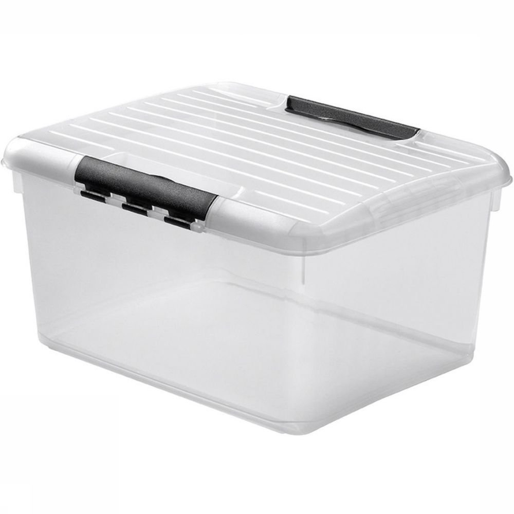 Opbergbox Plastic Miscellaneous Opbergbox Multibox Optima Met Deksel 33 Liter