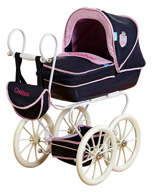 Hauck Stroller Accessories Personalised Hauck Classic Navy Pram Fifty Plus