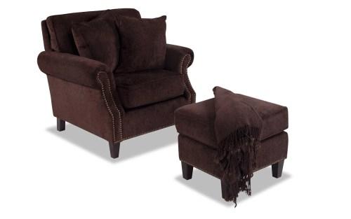 Medium Of Cuddle Chair With Ottoman