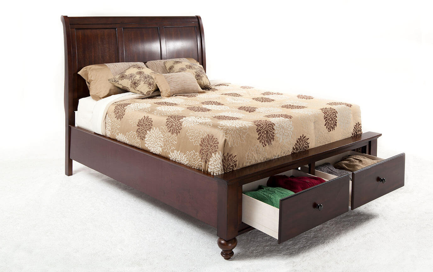 Bed Queen Chatham Queen Storage Bed