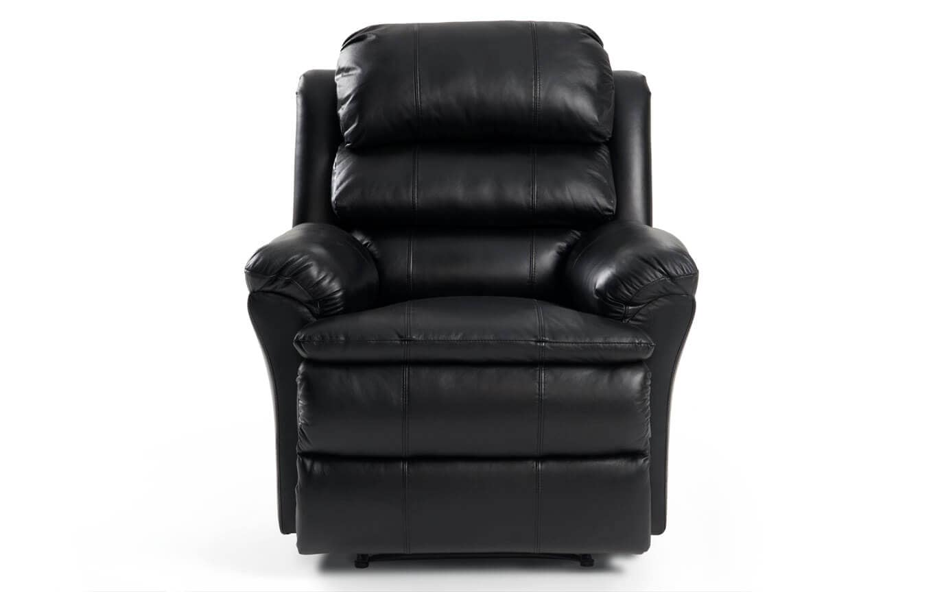 Electric Recliner Leather Chairs Bob O Pedic Leather Power Recliner