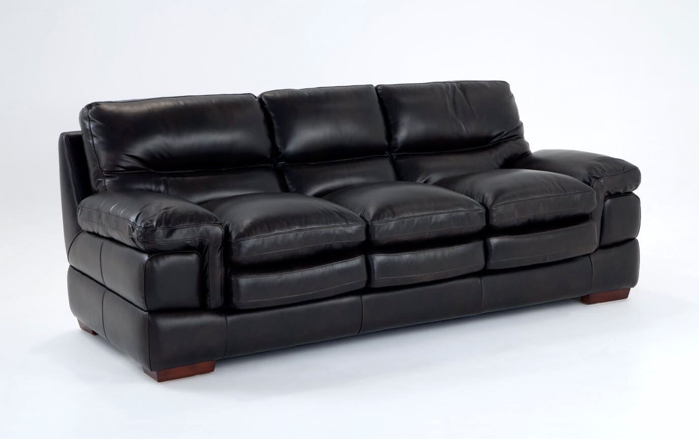 Leather Living Room Furnitures Carter Leather Sofa