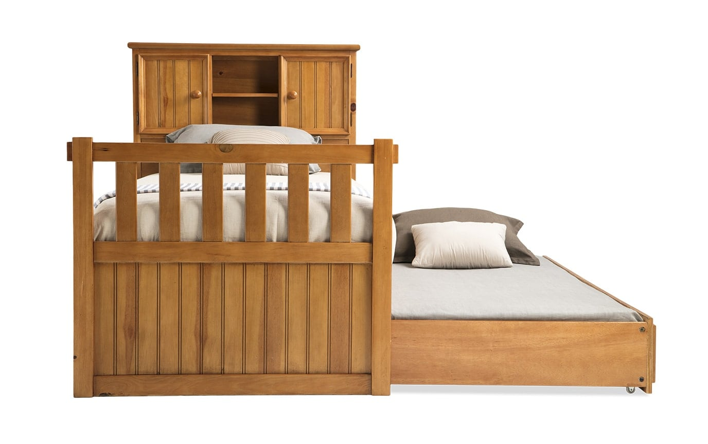 Denver Youth Twin Bookcase Bed With Trundle Outlet