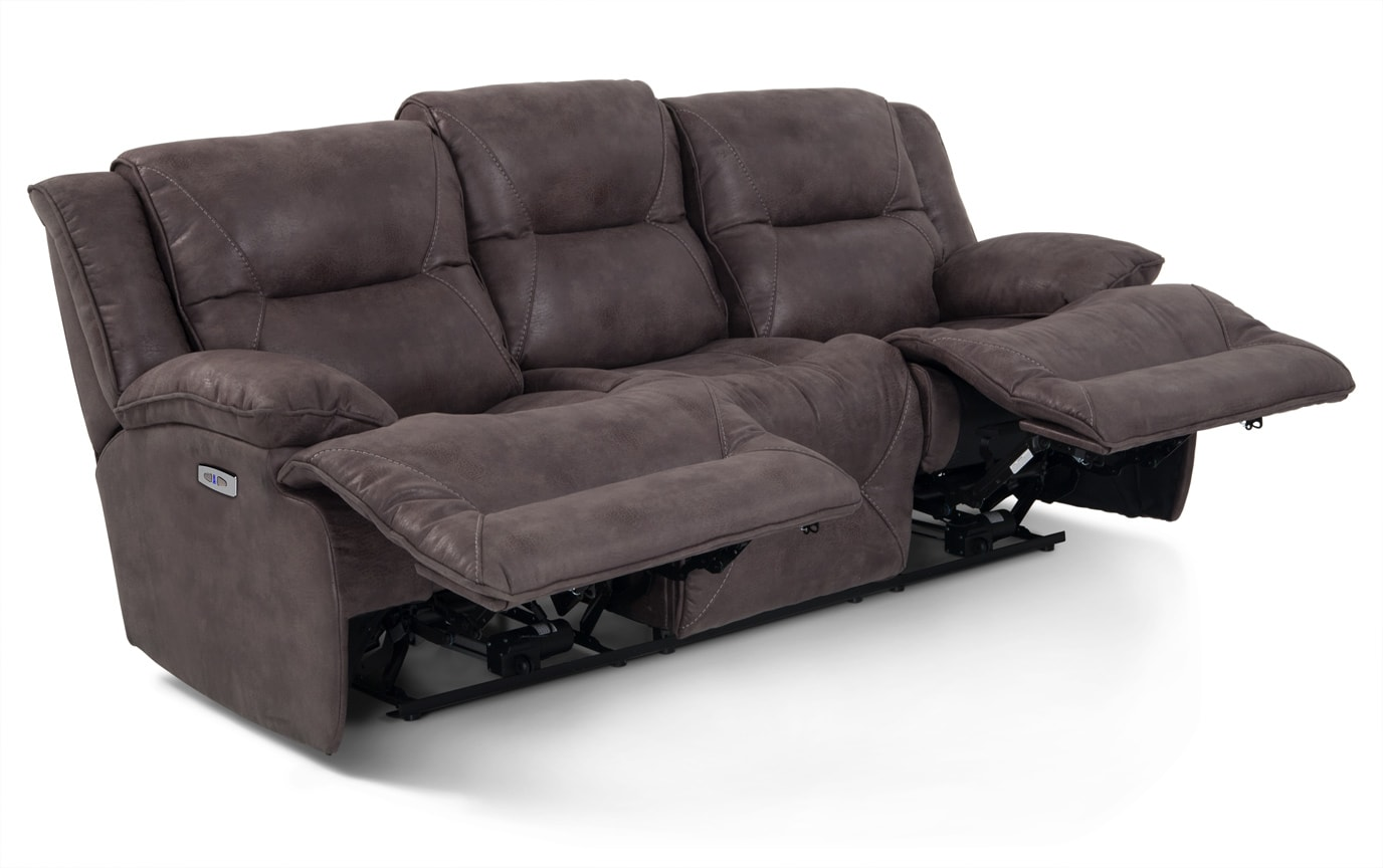 Home Zone Sofa Jennings Power Reclining Sofa