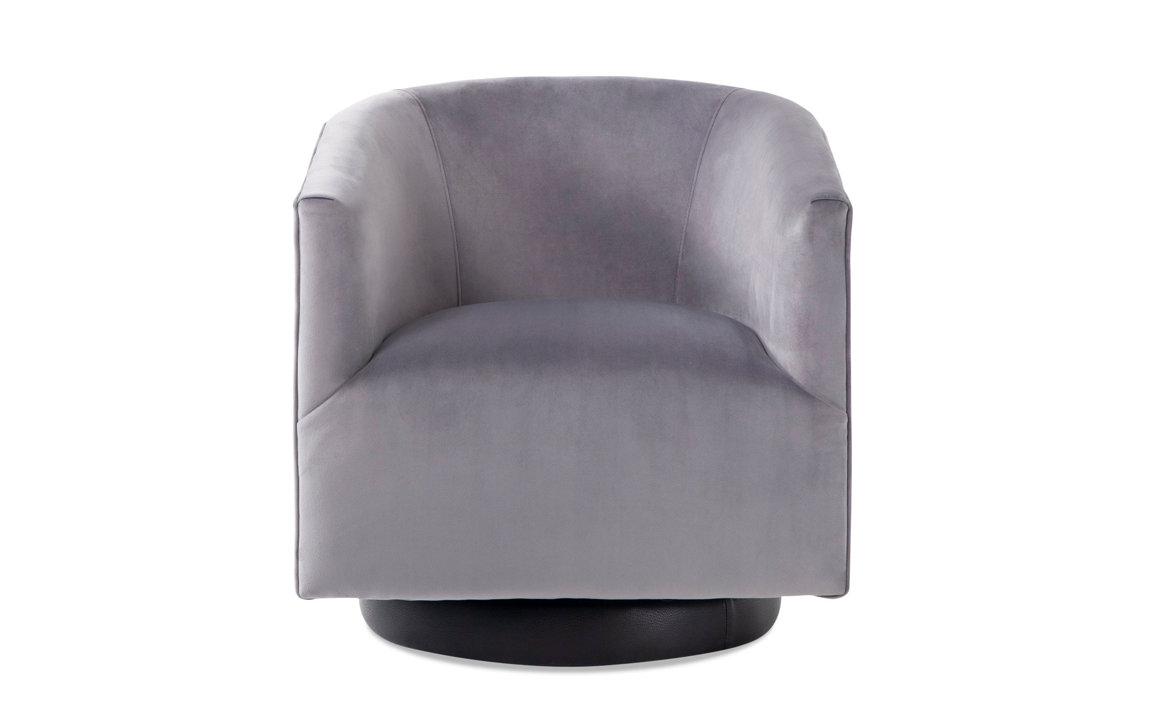 Keaton Gray Swivel Chair Bob S Discount Furniture