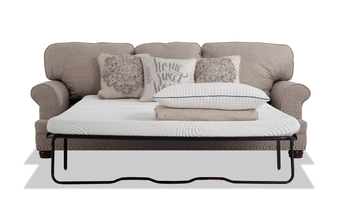 Sofa Queen Charleston Bob O Pedic Queen Sleeper Sofa