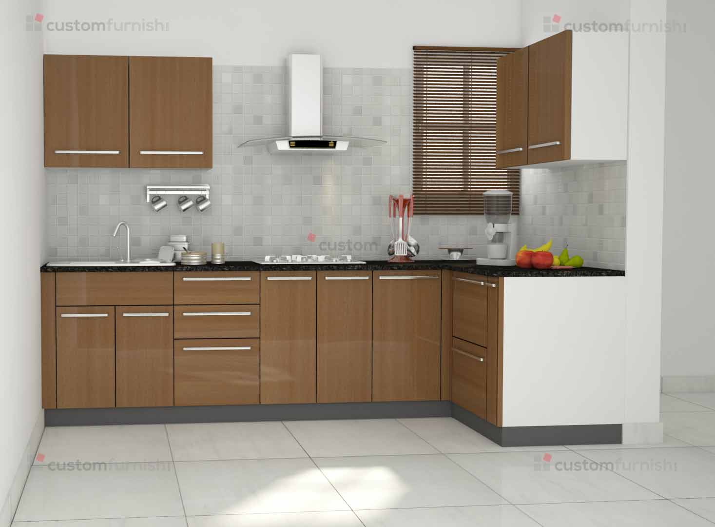 Modular Kitchen Design For L Shape L Shaped Modular Kitchen Designs