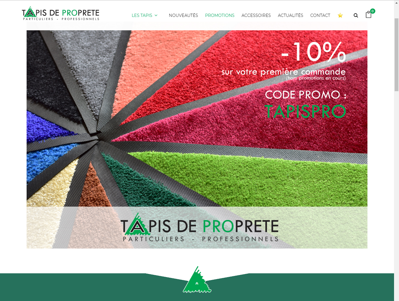 Site Tapis Tapis De Proprete Site Internet Production Web