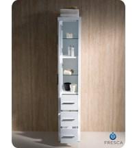 Fresca FST6260WH Torino Tall Bathroom Linen Side Cabinet ...