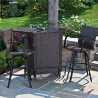 Vento Mezzo Outdoor Bar Set - Patio Furniture by Alfresco ...