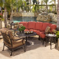 St. Augustine Deep Seating Cast Patio Furniture by ...