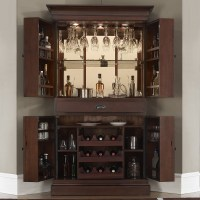 Francesca Wine & Bar Cabinet by American Heritage