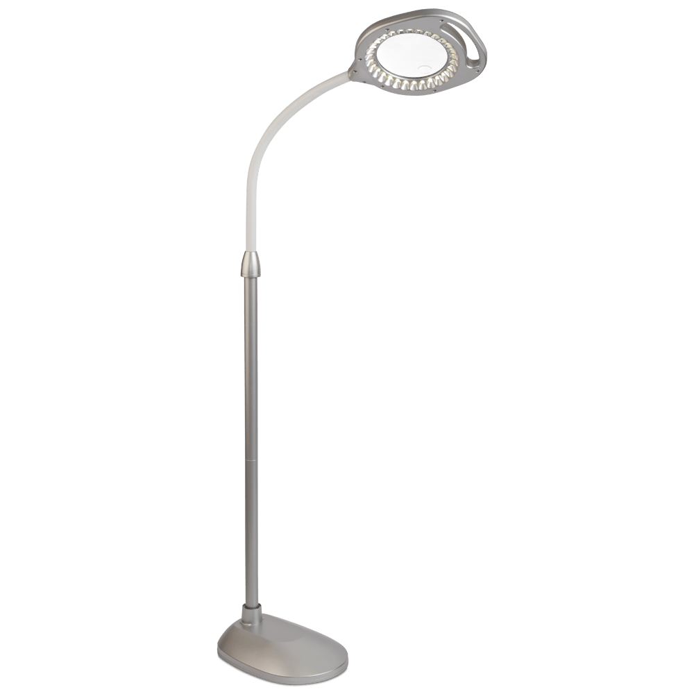 Floor Table Lamps 2 In 1 Led Magnifier Floor And Table Light