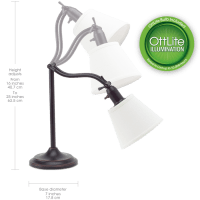 OttLite Marietta Table Lamp