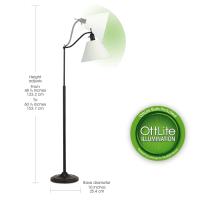 OttLite Marietta Floor Lamp   Floor Lamps