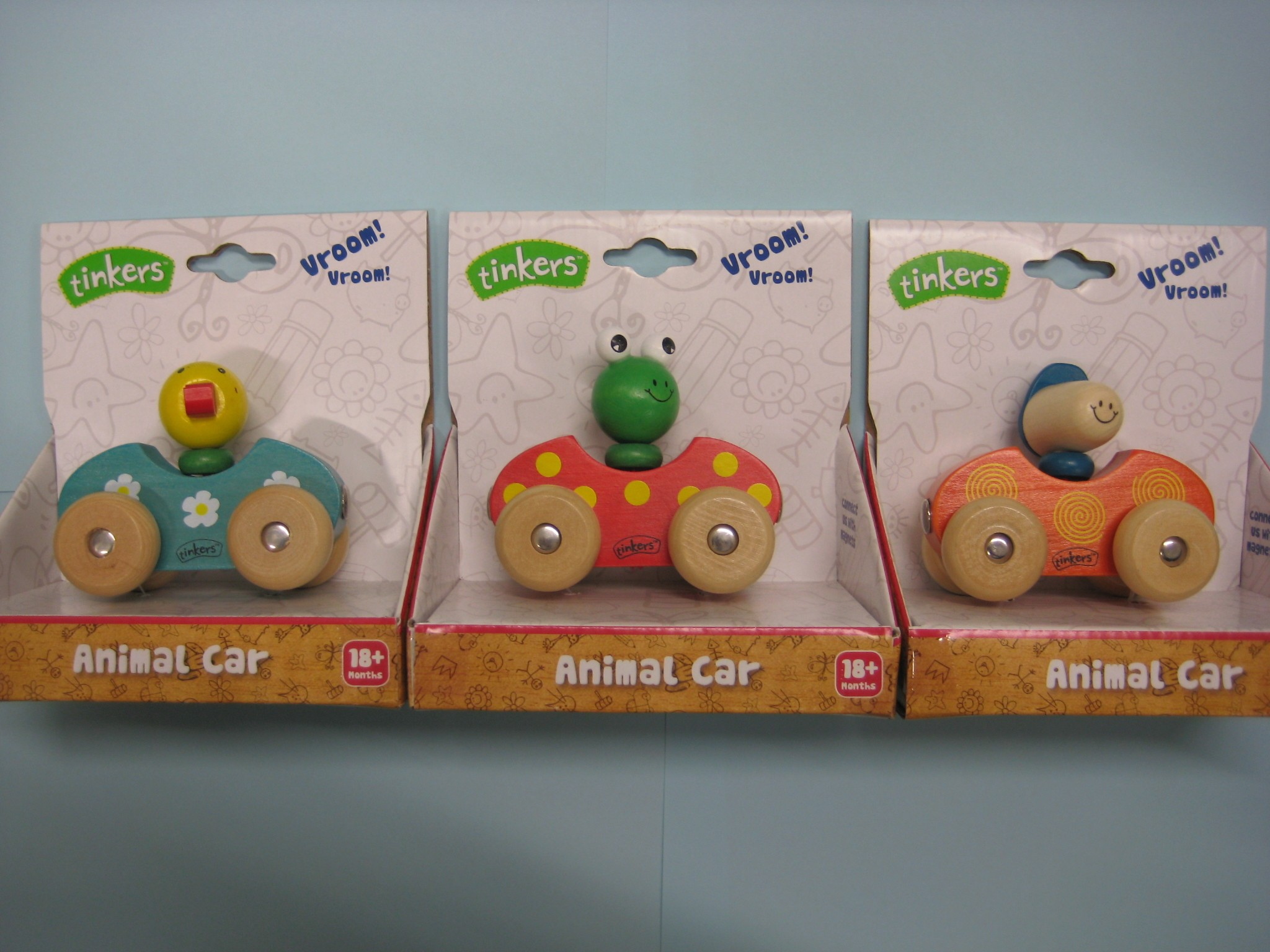 Big W Toy Cars Big W Quottinkers Quot Brand Wooden Toy Animal Cars Product