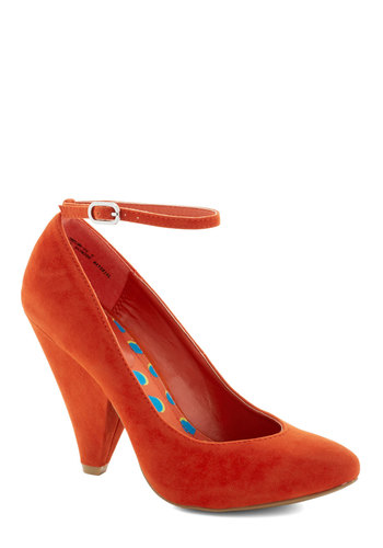 Unleash the Chic Heel in Poppy